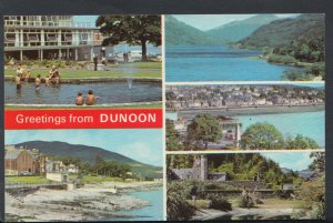 Scotland Postcard - Greetings From Dunoon  RS7281
