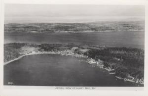 RP: ALBERT BAY, British Columbia, Canada, 1920-40s; Aerial View