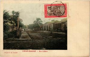 CPA DIEGO-SUAREZ Rue Colbert MADAGASCAR (709602)