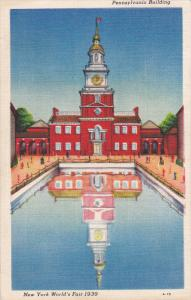 New York Worlds Fair , NYC , 1939 : Pennsylvania Building