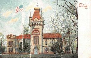 LPS68 Harrisburg Pennsylvania State Arsenal Postcard