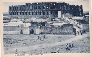 Tunisia El-Djem Le Colisee et la Ville