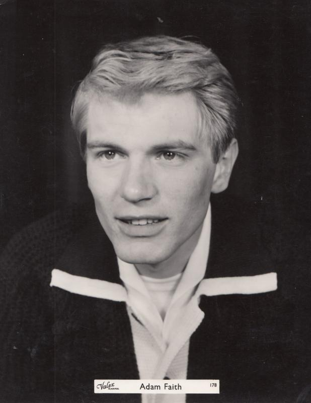 Adam Faith Valex Blackpool Vintage Giant 12x9 Publicity Photo Photograph