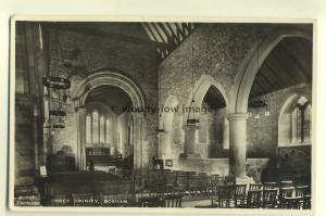 cu1304 - Holy Trinity Church , Bosham , Hampshire - postcard