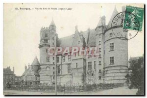 Old Postcard Bourges South Facade of the Palace Jacquex Heart