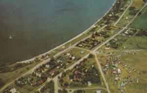 MEOTA, Saskatchewan, Canada, 1950-1960's; Aerial View Of Meota Regional Park