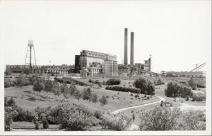 Spruce Falls Paper Mill Kapuskasing Ontario ON Ont Real Photo Postcard E46