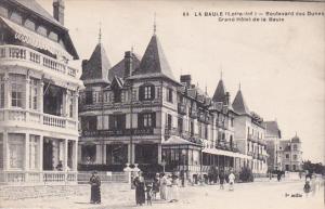 LA BAULE, Loire Atlantique, France, 1900-1910´s; Boulevard Des Dunes, Grand ...