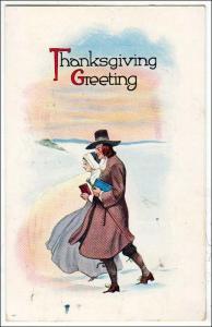 Thanksgiving, Pilgrim Couple