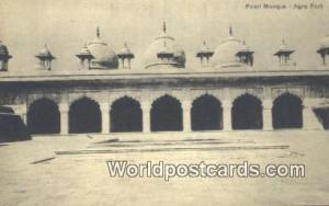 Agra Fort, India Pearl Mosque  Pearl Mosque