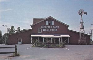 CHARLOTTE, North Carolina, 1940-1960's; Hereford Barn Steak House