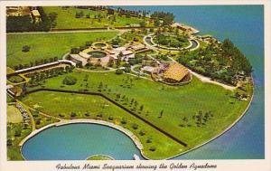 Florida Miami Fabulous Miami Seaquarium Showing The Golden Aquadome