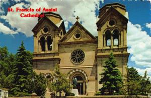 Postcard Cathedral of St. Francis of Assisi SANTE FE New Mexico USA
