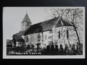 Berkshire: Tidmarsh Church c1959 - Old RP Postcard