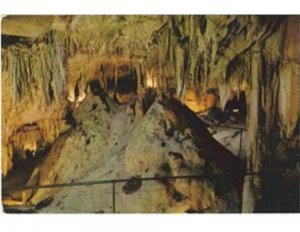 Postcard The Onyx Chamber in Mammoth National Park Cave Kentucky.