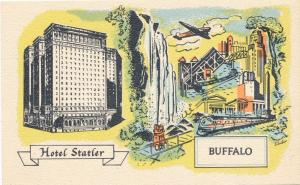 Hotel Statler 1100 Rooms with Bath in Downtown Buffalo NY, New York - Linen