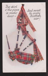 General Greetings - From Scotland Bagpipes & Verse - Unused