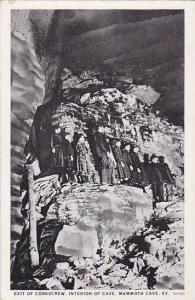 Exit Of Corkscrew, Interior Of Cave, Mammoth Cave, Kentucky, 1910-1920s