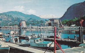 Small Boat Harbor , SQUAMISH , B.C. , Canada , 50-60s #2