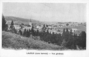 Lajoux Jura Switzerland Birds Eye View Vintage Postcard JA454986