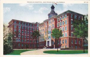 California San Francisco Franklin Hospital
