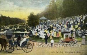 John Ball Park Grand Rapids MI 1912