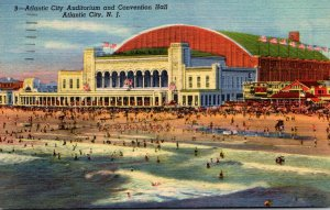 New Jersey Atlantic City Auditorium and Convention Hall 1953