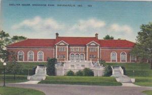 Indiana Indianapolis Shelter House Brookside Park