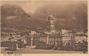 CAPE TOWN , South Africa , 00-10s ; City Hall