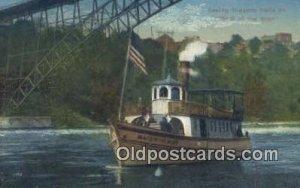 Maid Of The Mist, Niagara Falls, New York, NY USA Steam Ship Unused light wea...