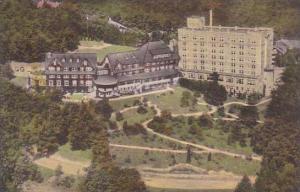 Pennsylvania Pocono Manor  Pocono Manor Inn From The Air Albertype