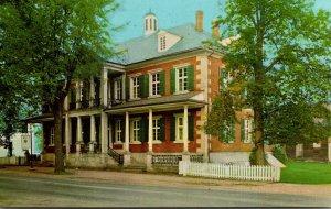 Ohio Zoar Number One House Home Of Joseph Baumeler Zoar Village