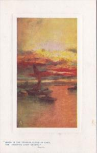 Tucks Landscape Scene Sunset Glow Series 9719