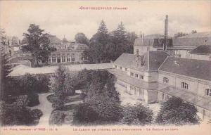 France Contrexeville Vosges Le Jardin De L'Hotel De La Providence Le Casino A...