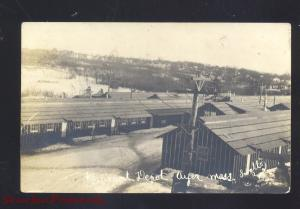 RPPC AYER MASSACHUSETTS RAILROAD DEPOT TRAIN STATION MASS