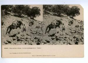 193196 IRAN Persia SHIRAZ Vintage stereo postcard