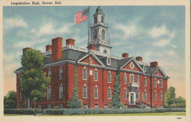 DOVER , Delaware, 1930-40s ; Legislative Hall