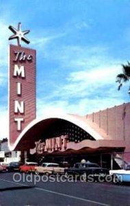 The Mint Casino Las Vegas Nevada, USA Gambling, Cards Postcard Postcards Unused