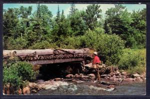Brook Fishing,Ste-Anne du Bellevue,Quebec,Canada BIN
