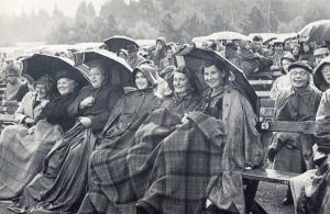 Nostalgia Postcard 1954 Highland Games, The Braemar Gathering Repro Card NS24