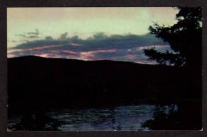 AK View Clouds and hill near WASILLA ALASKA Postcard