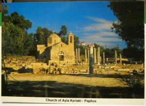Cyprus Paphos Church of Ayia Kyriaki - unposted