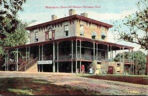 Pennsylvania Philadelphia Fairmount Park Lemon Hill Mansion