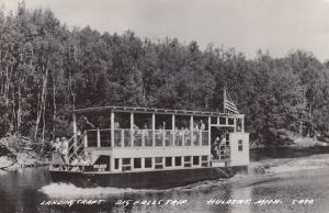 RP, HULBERT, Michigan, 1930-1940s; Landing Craft, Big Falls Trip