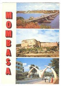 Scenic Greetings from Mombasa, Kenya, 40-60s