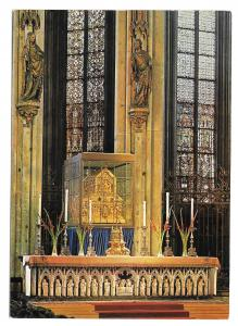 Germany Cologne Cathedral Koln am Rhein Altar Shrine of Three Kings 4X6 Postcard