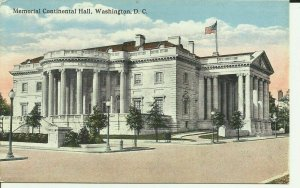 Memorial Continental Hall, Washington, D.C.