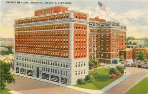 TN, Memphis, Tennessee, Baptist Memorial Hospital, Colourpicture No. 15,581