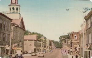 PERTH, Ontario, Canada, 1940-50s ; Gore Street, Library, Drug Store