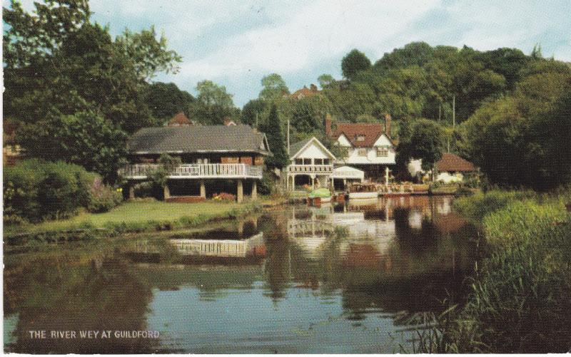 Post Card Surrey Guildford The River Wey